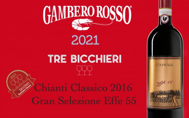Tre Bicchieri Gambero Rosso 2021 - The best Tuscany Wine - For the second year in a row our wine is awarded...