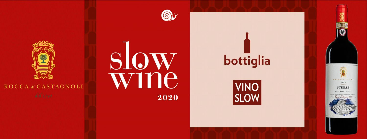 Slow Wine awards our Stielle Gran Selezione 2015 with